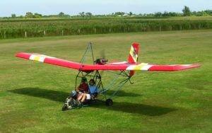 ultra light plane crash